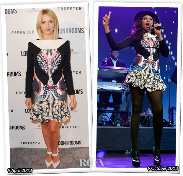 Who Wore Peter Pilotto Better Julianne Hough or Jennifer Hudson