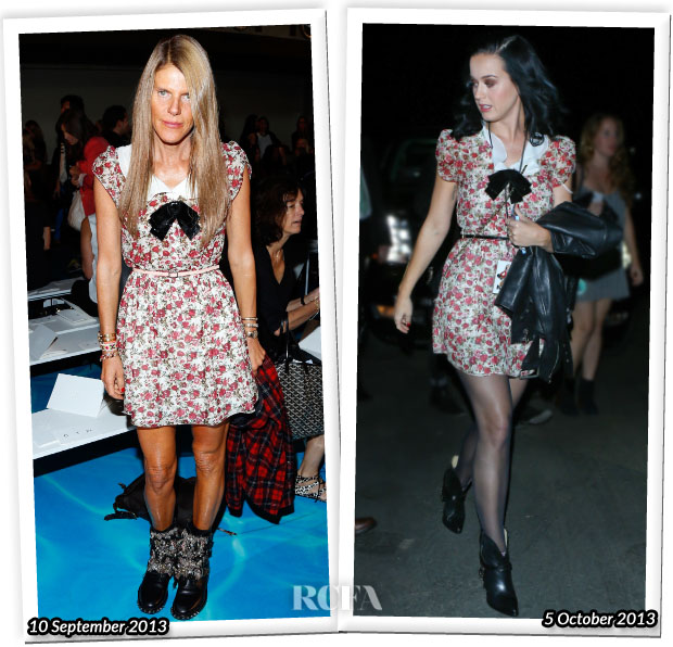 Who Wore Saint Laurent Better Anna Dello Russo or Katy Perry
