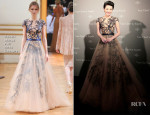 Xu Qing In Zuhair Murad Couture - Van Cleef & Arpels Dinner