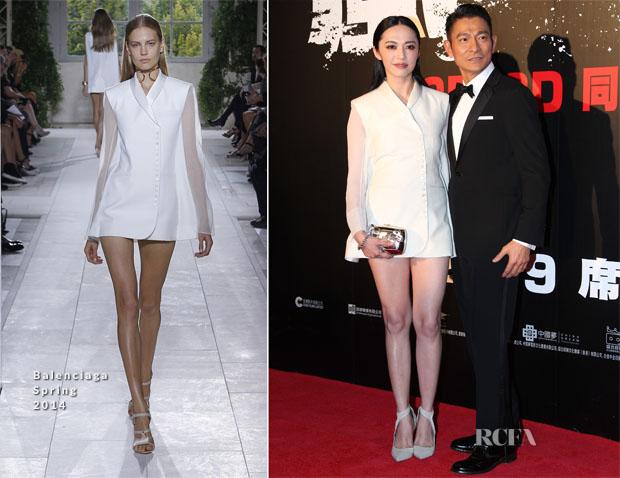 Yao Chen In Balenciaga - 'Firestorm' Asia-Pacific Film Festival Premiere