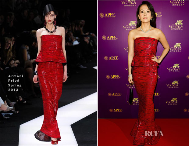Zhang Ziyi In Armani Privé - 56th Asia-Pacific Film Festival Awards Ceremony