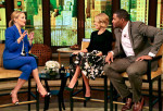 Kate Hudson In Viktor & Rolf - Live with Kelly & Michael