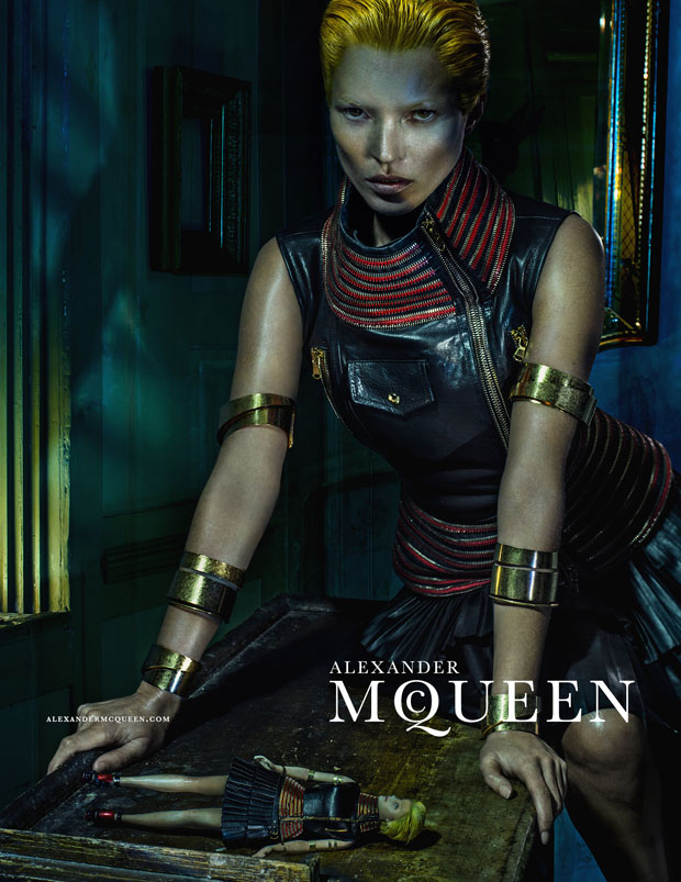 Kate Moss in Alexander McQueen