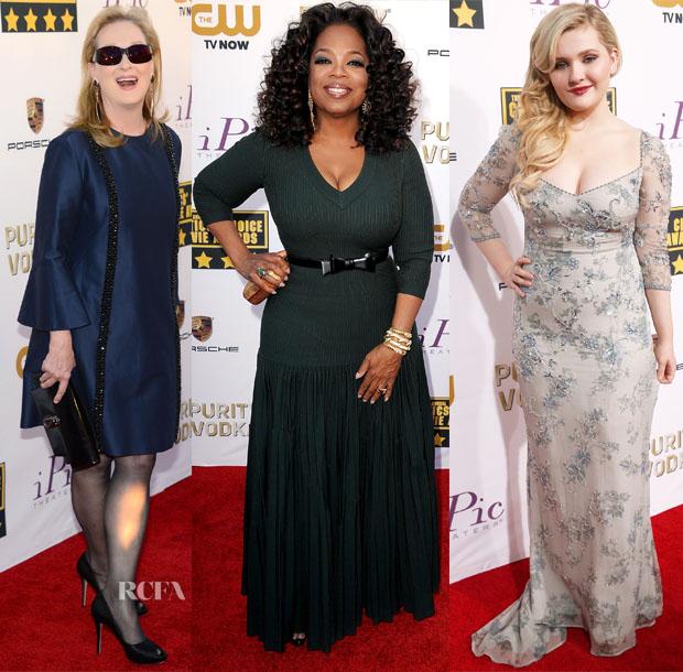 Critics Choice Movie Awards 2014 рекомендации