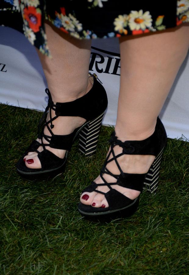 Melissa McCarthy's Jimmy Choo 'Hammer' Sandals