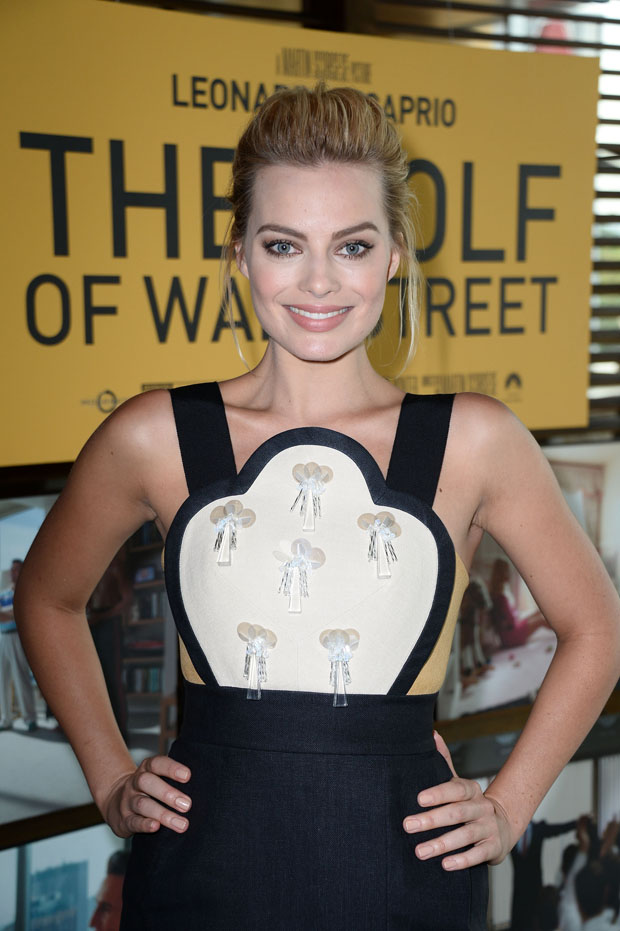 Margot Robbie in Delpozo