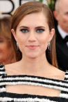 Get The Look: Allison Williams' 2014 Golden Globes Makeup Look