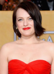 Get The Look: Elisabeth Moss' SAG Awards Chic Red Lip