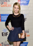 Emma Roberts in Kate Spade New York