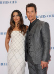 Camila Alves in Pamella Roland  and Matthew McConaughey in Dolce & Gabbana
