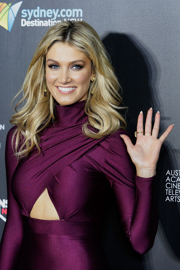 Delta Goodrem in Michael Costello