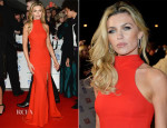 Abbey Clancy In Philip Armstrong - National Television Awards 2014