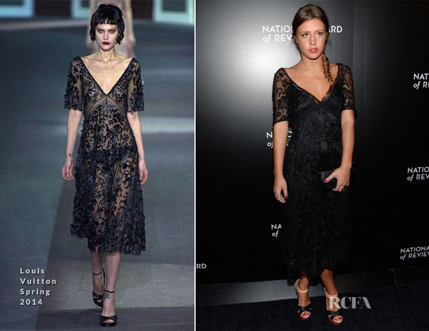 Adele Exarchopoulos In Louis Vuitton S14 – 2014 National Board Of Review Awards Gala