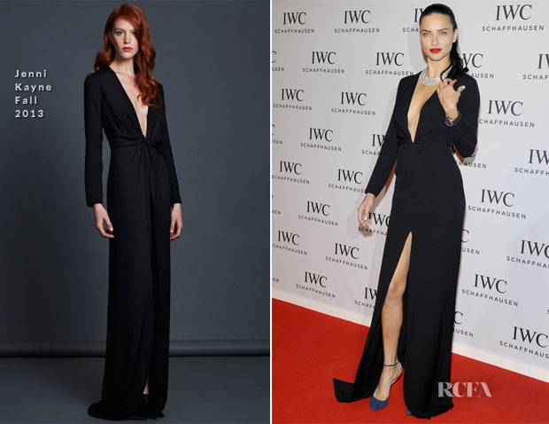 Adriana Lima In Jenni Kayne -  IWC 'Inside The Wave' Gala Event