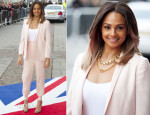 Alesha Dixon In Stella McCartney - Britain's Got Talent Cardiff Auditions