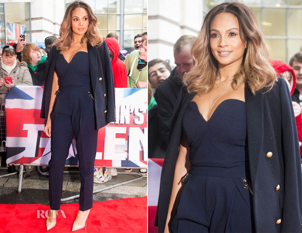 Alesha Dixon In Three Floor - Britain's Got Talent Belfast Auditions