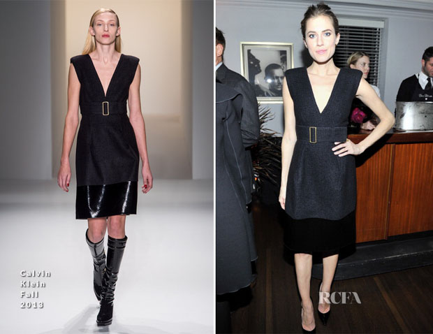 Allison Williams In Calvin Klein - W Magazine 'Best Performances' Portfolio Celebration