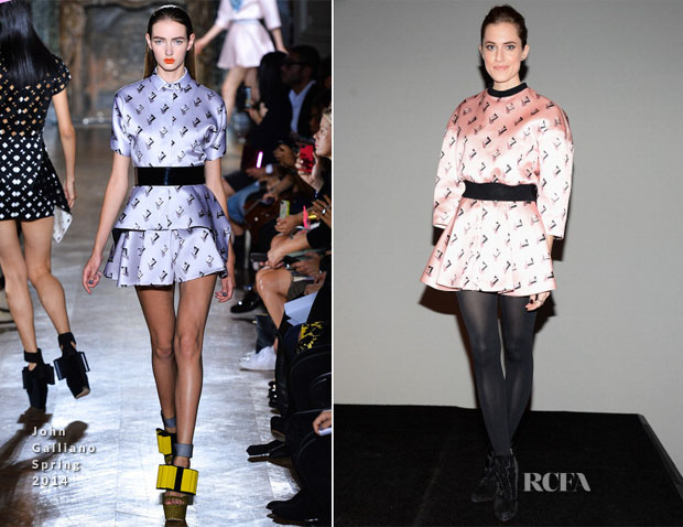 Allison Williams In John Galliano - Meet The Actors