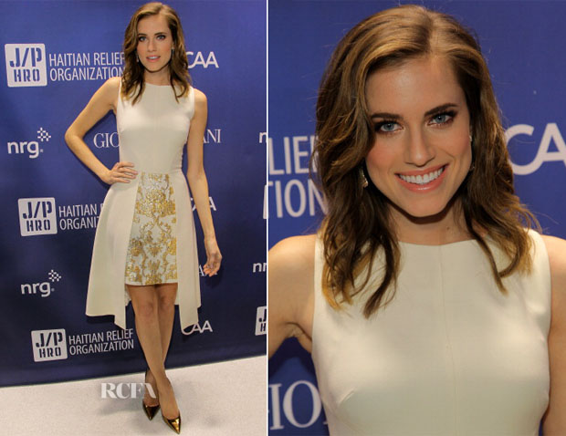 Allison Williams In Osman - Sean Penn 3rd Annual Help Haiti Home Gala