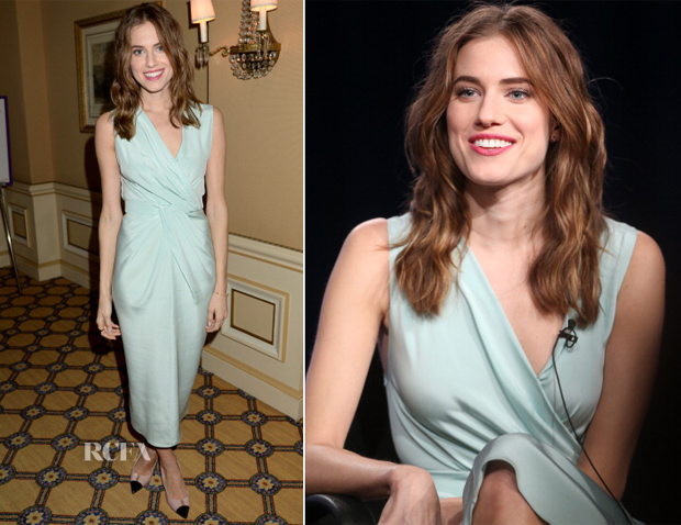 Allison Williams In Vionnet - HBO Winter 2014 TCA Panel