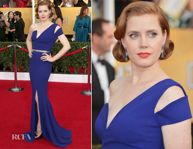 Amy Adams In Antonio Berardi - 2014 SAG Awards
