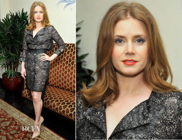 Amy Adams In Antonio Berardi - W Magazine 'Best Performances' Portfolio Celebration