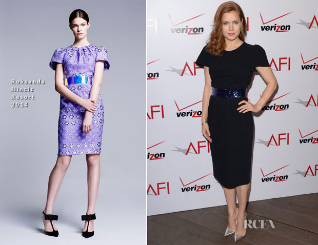 Amy Adams In Roksanda Ilincic - AFI Awards 2014