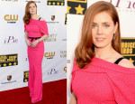 Amy Adams In Roland Mouret - 2014 Critics' Choice Movie Awards