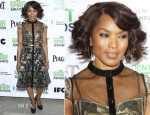 Angela Bassett In Byron Lars - 2014 Film Independent Filmmaker Grant And Spirit Awards Nominees Brunch
