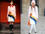 Anna Dello Russo In Prada - Christian Dior Spring 2014 Couture Front Row