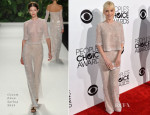Anna Faris In Naeem Khan - 2014 People's Choice Awards