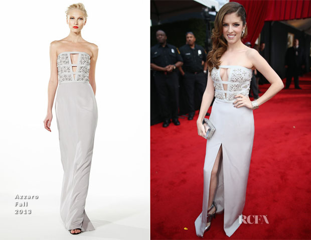 Anna Kendrick In Azzaro Fall 2013 - 2014 Grammy Awards