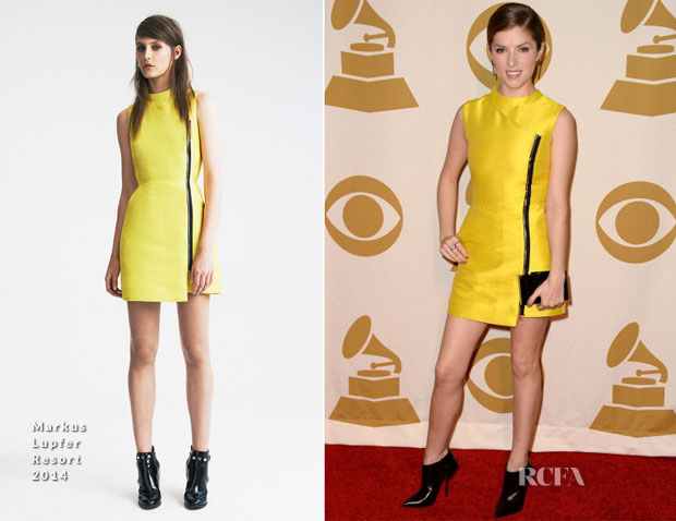 Anna Kendrick In Markus Lupfer - The Night That Changed America A Grammy Salute To The Beatles