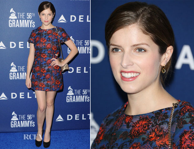 Anna Kendrick In Topshop - 2014 Grammy Weekend Party