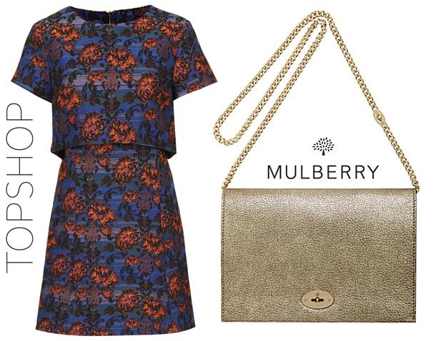 Anna Kendrick Topshop & Mulberry