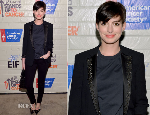 Anne Hathaway In Viktor & Rolf - Hollywood Stands Up To Cancer