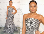 Ashley Madekwe In Monique Lhuillier - Art of Elysium Heaven Gala