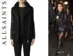 Ashley Tisdale's All Saints 'Cho' Biker Jacket