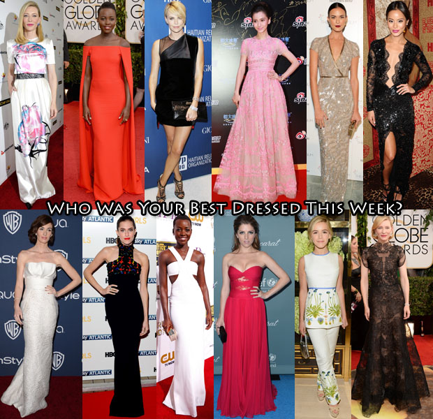Best Dressed Of The Week Globes Week