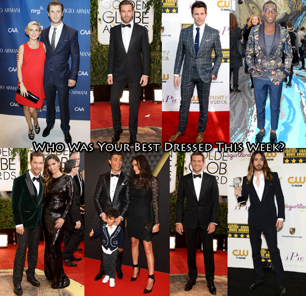 Best Dressed Of The Week Globes WeekMen