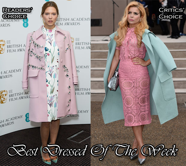 Best Dressed Of The Week - Lea Seydoux In Prada & Miu Miu, Paloma Faith In Burberry Prorsum