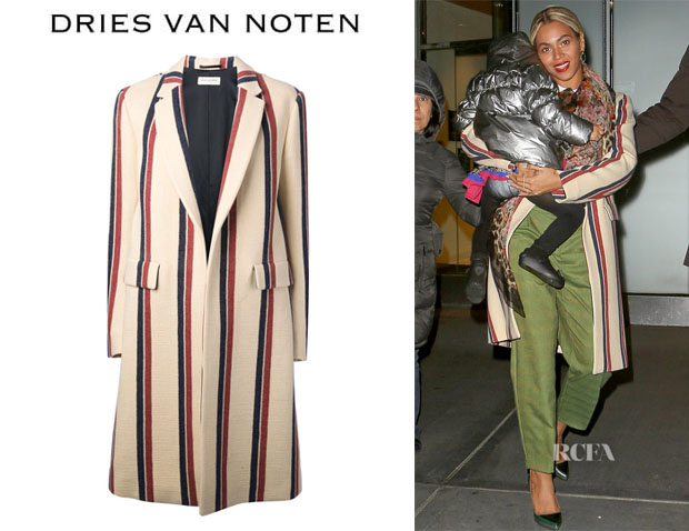 Beyonce Knowles' Dries Van Noten 'Resende' Coat