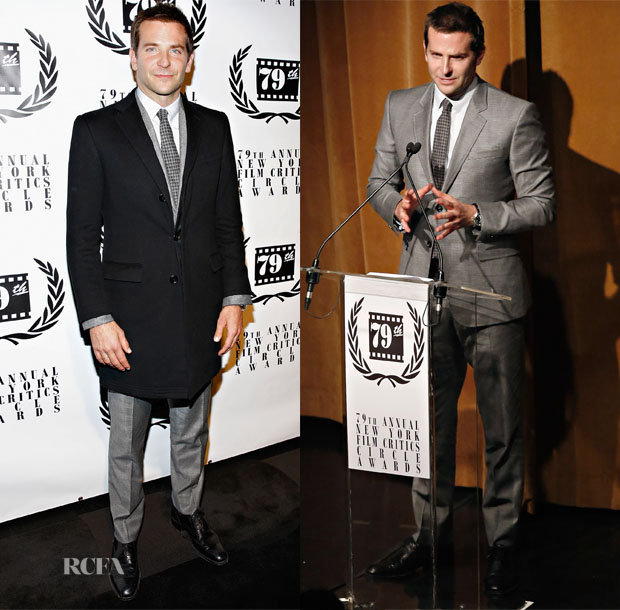 Bradley Cooper In Gucci - New York Film Critics Circle Awards