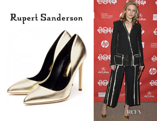 Brit Marling's Rupert Sanderson 'Elba' Pumps