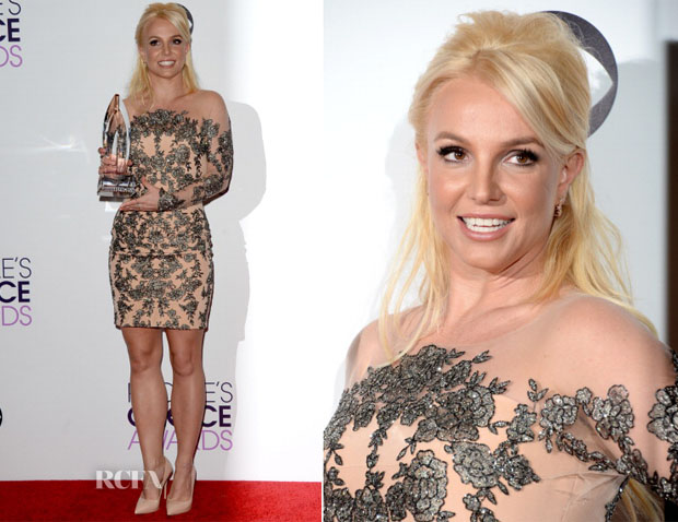 Britney Spears In Mikael D - 2014 People's Choice Awards