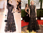 Cate Blanchett In Armani Privé Couture - 2014 Golden Globe Awards
