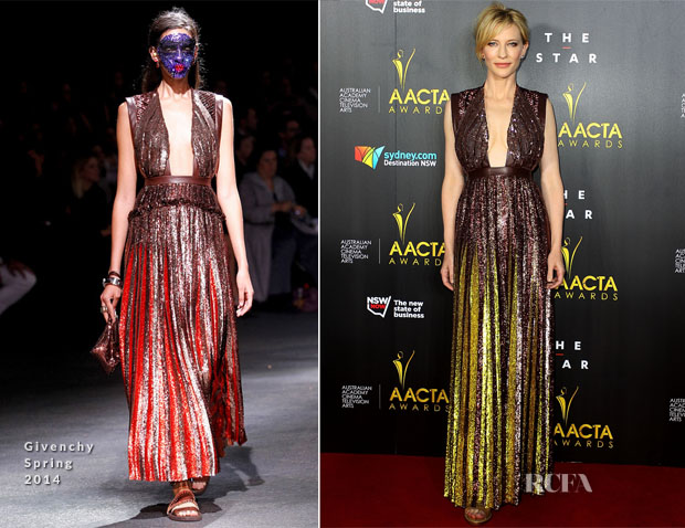 Cate Blanchett In Givenchy - 3rd Annual AACTA Awards