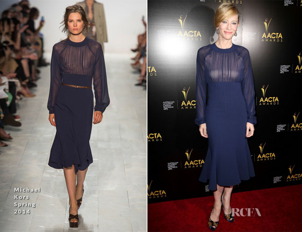 Cate Blanchett In Michael Kors - 3rd AACTA International Awards