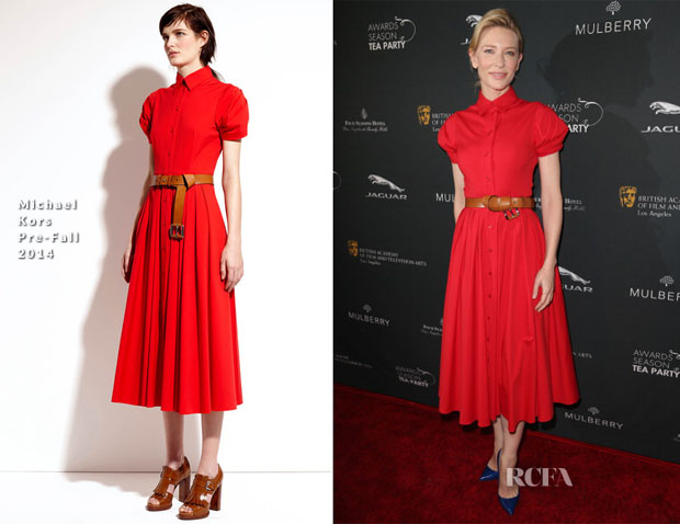 Cate Blanchett In Michael Kors - BAFTA LA 2014 Awards Season Tea Party