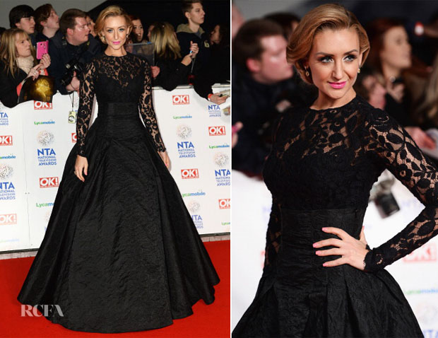 Catherine Tyldesley In Nevena London  - National Television Awards 2014